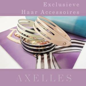 Exclusief breed haarband, 3-lijnen, AXELLES Fashion