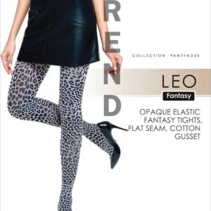 Dierenprint panty, leopard, 50-den, dameskousen,blauw zwart, 19C-12CP