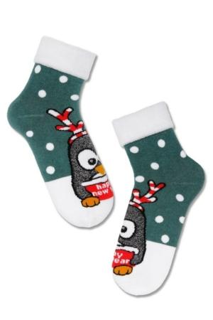 Kindersokken, kerstpatroon met glitter, Axelles