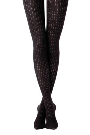 Katoenpanty 3D geweven mesh (Perfect), nero zwart