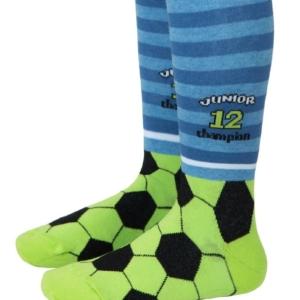 Baby-kindermaillot-voetbal-voetjes-Kampioen-denim-blauw
