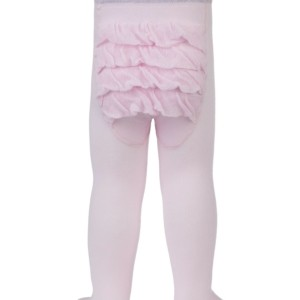Baby maillot ruches effen roze, 0-12 maand, 19C-115CP-542