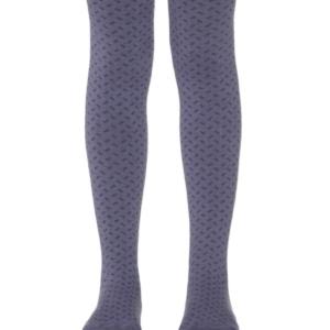 Kinderen-maillot-geweven-geometrisch-patroon-blauw-paars