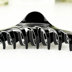 Luxe haarklem | Sierklem zwart (Large) in geschenkdoos, #AxellesFashion
