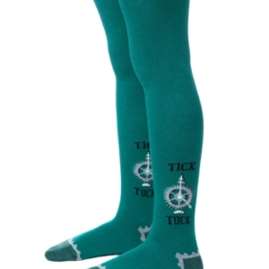 Kinderenmaillot marine-patroon, donker turquoise, 4C-04CP