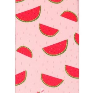 Pantysokjes SWEET fruit-patroon watermeloen, 70-den, wit rood, 013, AXELLES