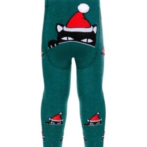 Babymaillot Kerstman, Santa Claus, Xmas cat, 557, achterkant, AXELLES