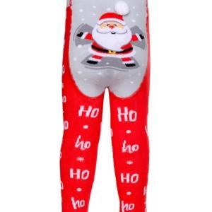 Babymaillot Kerstman, Ho-Ho, Santa, rood, AXELLES