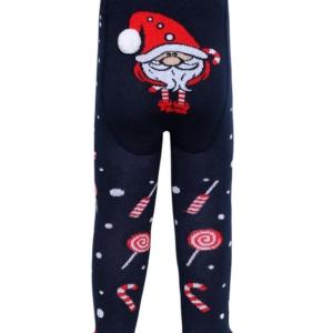 Babymaillot Sinterklaas, Kerstman, blauw, details achterkant, 555, AXELLES