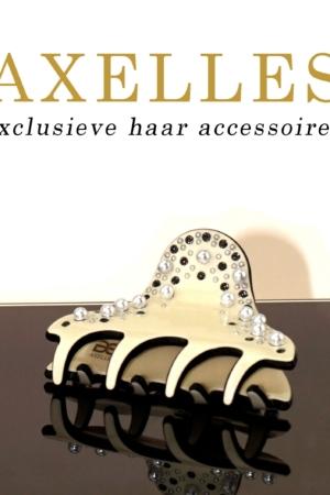 Luxe Haarklem 5 cm | Sierklem parels & stras