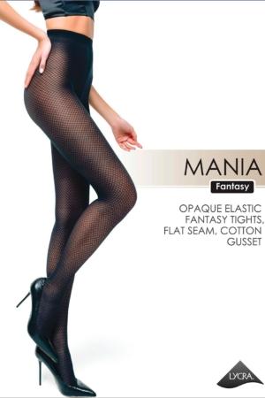 Panty ingeweven print, MANIA (smal)