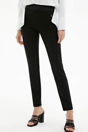 Skinny fit broek zwart, AXELLES