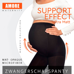 Zwangerschapspanty, 60-denier, zwart, AXELLES